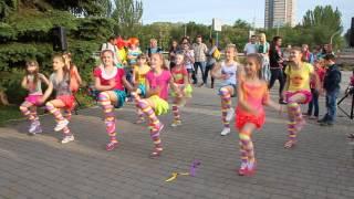 ДЕТСКИЙ ФИТНЕС из Fitness Life выступает на празднике Дня Защиты Детей!