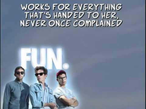 Fun. - The Gambler (lyrics)