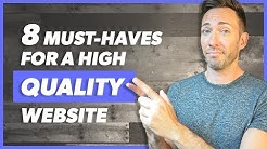 Website Checklist: 8 Must-Haves for a High Quality Website