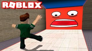 ¡¡ CUIDADO CON LA PARED EN ROBLOX !! | Be Crushed by a Speeding Wall