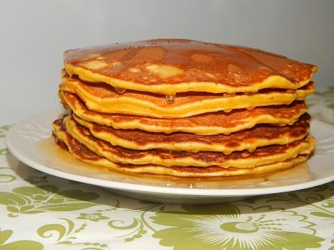 Панкейки-(рецепт).-Американские-блины.-/-american-pancakes-recipe.