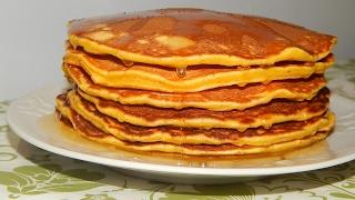 Панкейки (рецепт). Американские блинчики. / American pancakes recipe.