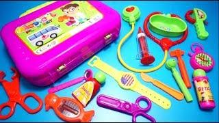 Ambulance Doctor Kit Playset for Kids - Medical Playset