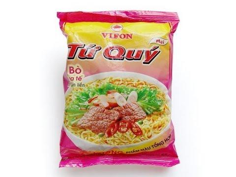 No.4893 VIFON (Vietnam) Tứ Quý Bò sa tế Mì ăn liền