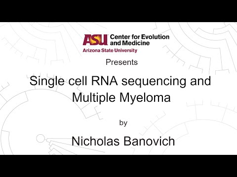 Single cell RNA sequencing and Multiple Myeloma | Nicholas Banovich