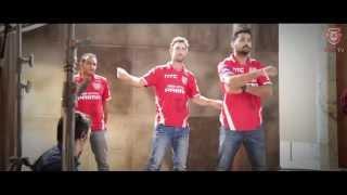 Maxwell, Sehwag & Murali Vijay shake a leg | KXIP | IPL8 | KingsXIPunjab