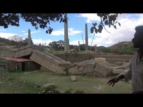 The Obelisk of Axum in Ethiopia's Tigray  - May 2017 Tour