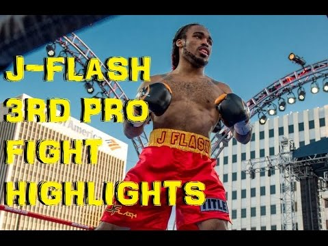 "WITNESS THE FLASH ! Jeremy ""J-Flash"" Nichols 3rd Fight Highlights"