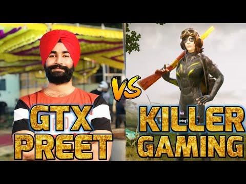 GTXPREET VS KILLER GAMING | FIGHT  IN GEORGOPOL