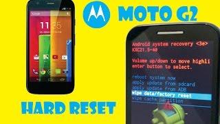 Hard Reset MotoG 2ª Geração - Restauração - (Nenhum comando)