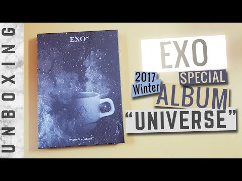 [Unboxing] EXO 'Universe' 2017 Winter...