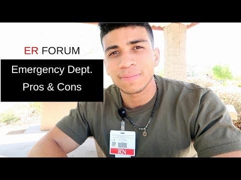 ER Nursing Pros & Cons