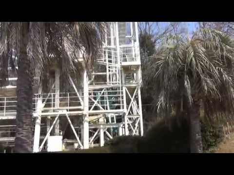 AWESOME Ultra Twister Roller Coaster POV   Washuzan Highland Japan