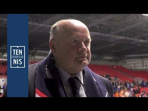 Coupe Davis 2018 - France / Pays-Bas - La Réaction De Bernard Giudicelli | FFT