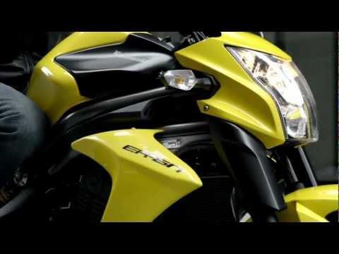 Kawasaki ER-6n Action - Official Video