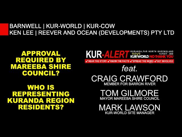KUR-World, KUR-Cow, BARNWELL: Craig Crawford, Tom Gilmore, Mark Lawson