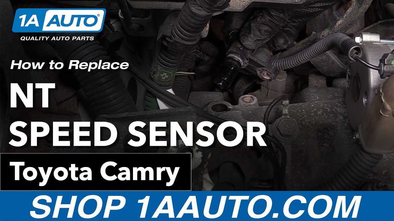 How To Replace Nt Speed Sensor 06 11 Toyota Camry Youtube