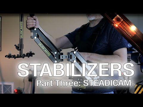 Stabilizers Part Three - GLIDE GEAR, Steadicam®, Tricks and Tips - BFM Ep. 82