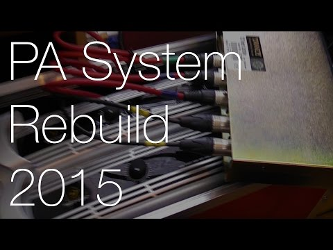Portable PA System Rebuild: Part 3 (Crossover, Speaker Handles & Testing) | IMNC