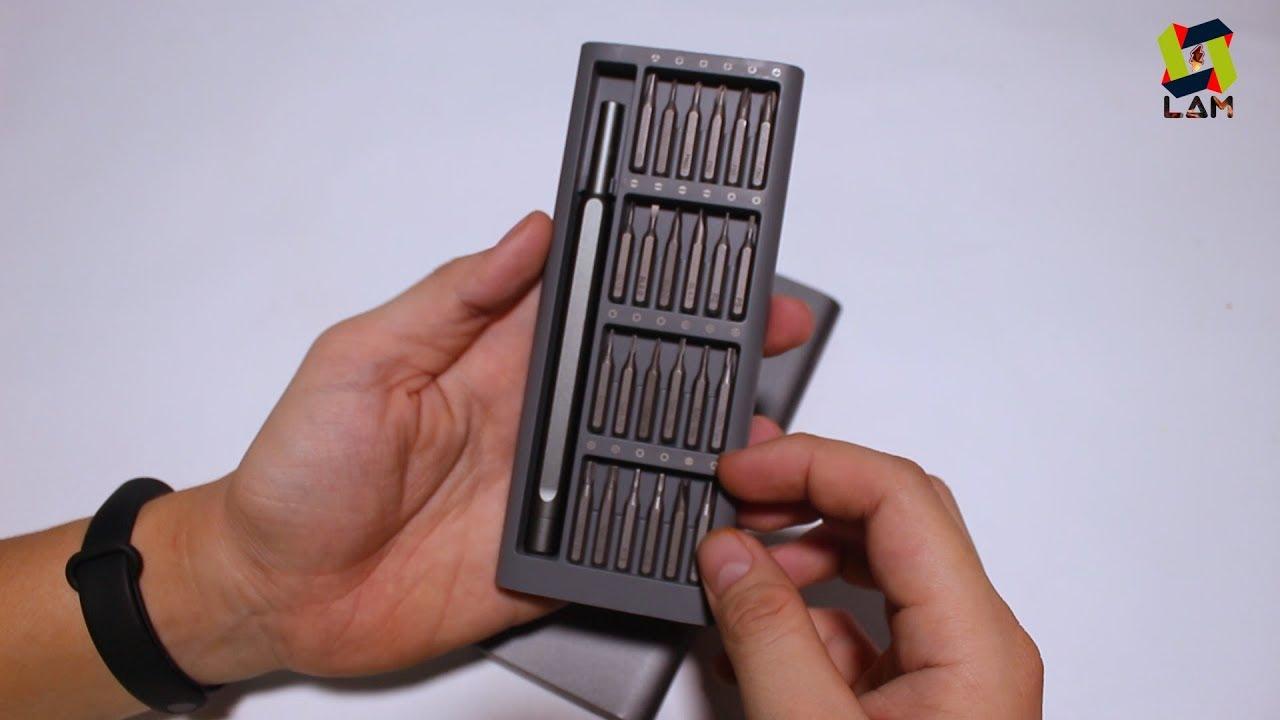 Mở hộp và trên tay nhanh Bộ tua vít đa năng Xiaomi Mijia Wiha – MUA HÀNG ONLINE