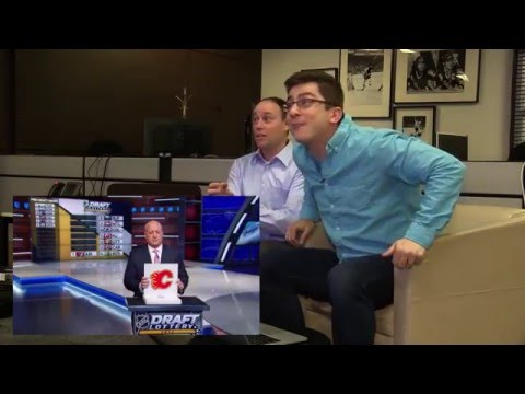 Jeff Marek, Steve Dangle, and Luke Fox's live reaction to the Maple Leafs winning the 1st pick