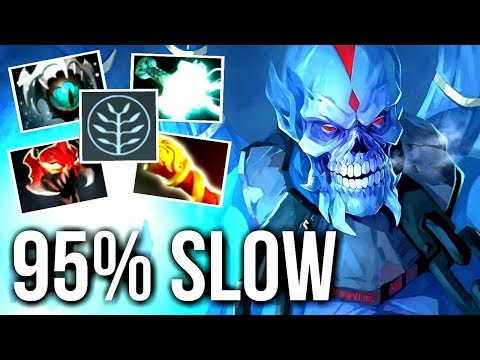 Download Youtube: WTF CAN'T RUN 95% SLOW Skadi Lich Carry vs Cancer Lancer by AdmiralBulldog Meta Gameplay Dota 2