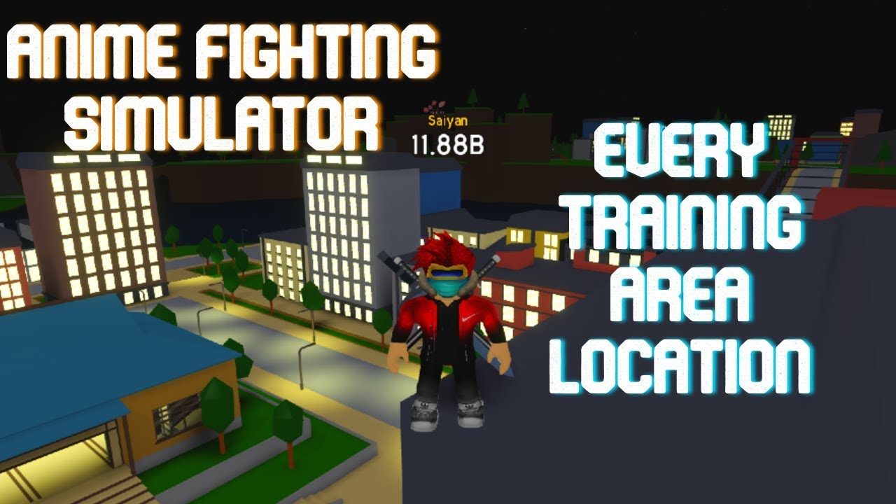 Roblox Anime Fighting Simulator All Training Locations Real - Codes Location Of Every Training Area Roblox Anime Fighting