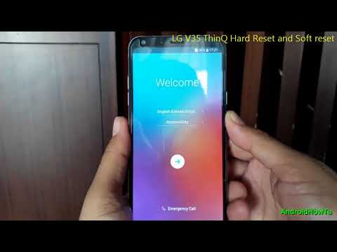LG V35 ThinQ Hard Reset and Soft reset