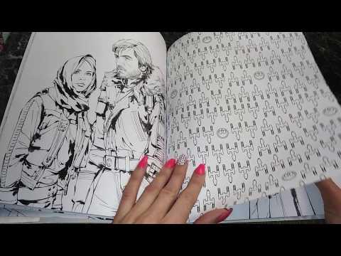 Раскраска Изгой-Один. Звёздные воины.  Обзор