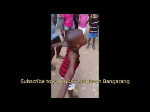 JAMAICA DANCEHALL - 5 Year Old Boy Dancing To Aji Bounce