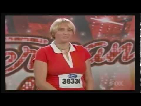 Most craziest American Idol contestant ever, Mary Roach