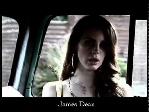 LANA DEL REY - BLUE JEANS VIDEO - with Lyrics -  (Penguin Prison Remix)
