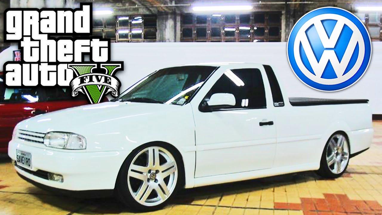 Gta 5 Mod Carro Volkswagen Saveiro G2 By Dudu Moura