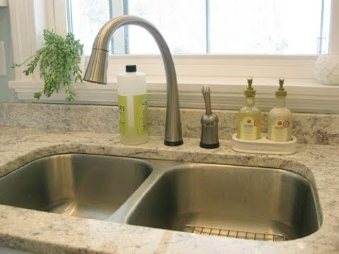 Kitchen Sink Soap Dispenser Bottle - YouTube