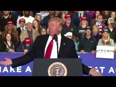 President Trump's rally in Washington Township, Michigan