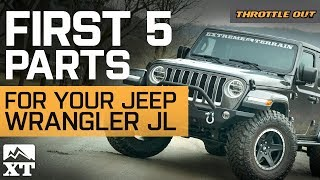 The First 5 Jl Mods You Need For Your Jeep Wrangler Jl  - Throttle Out