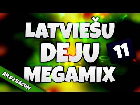 Latviešu Deju Megamikss 11 (By Dj Bacon) [2014]