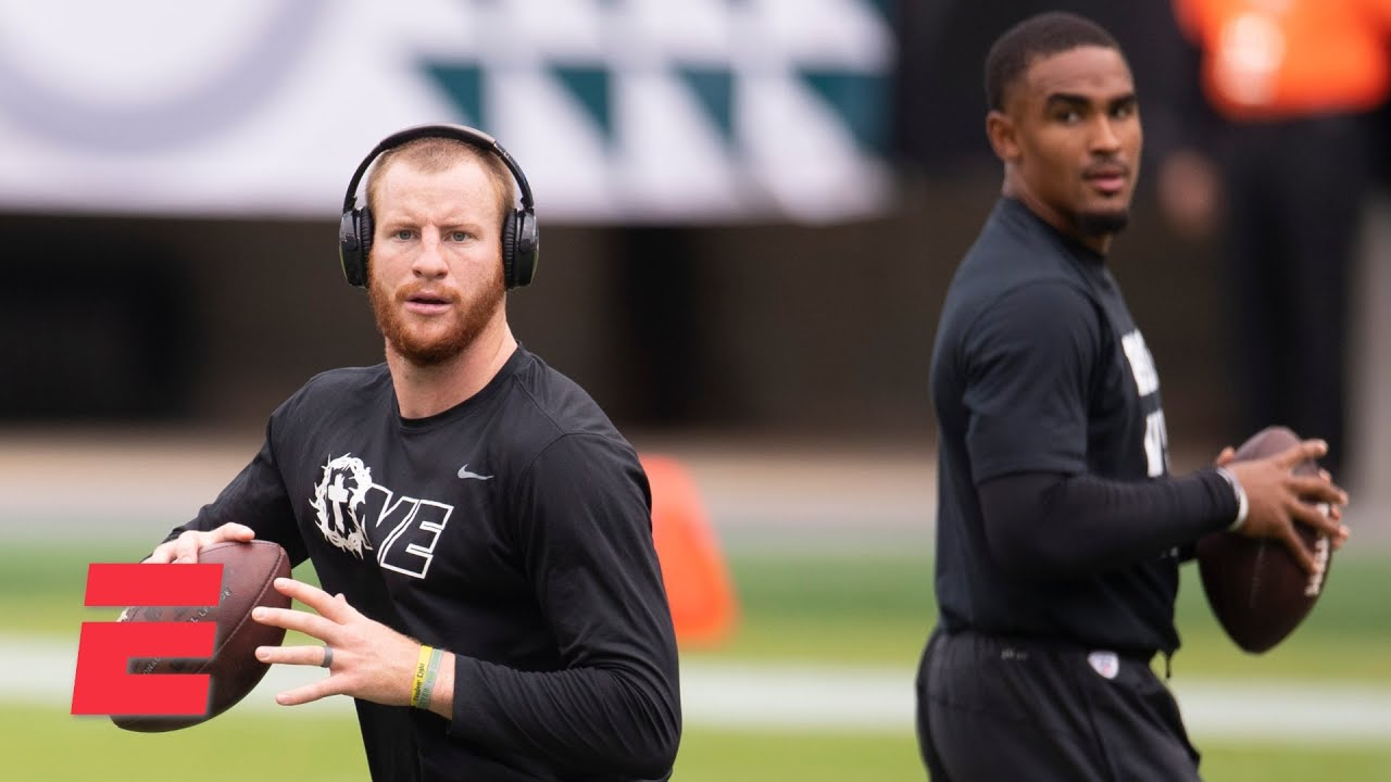 Download Discussing Carson Wentz, Jalen Hurts and the future of the Eagles   Keyshawn, JWill & Zubin