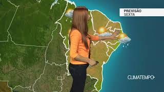 Previsão Nordeste - Instabilidade diminui