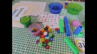 Decenas y unidades - preescolar homeschool thumbnail