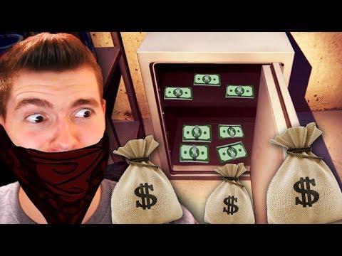 ABRI UM COFRE COM 1000 DÓLARES!!! - Thief Simulator