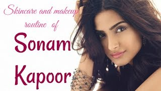 What are Sonam Kapoor's beauty and makeup secrets?