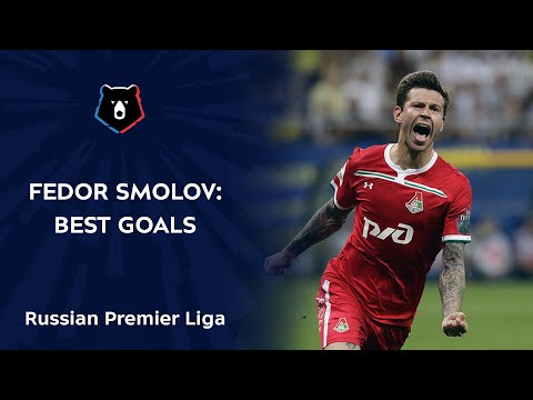 Fedor Smolov: Best Goals in RPL