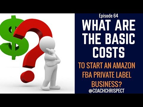 Episode 64 - What Are The Costs Associated With Starting An Amazon Business?