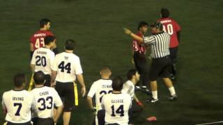 PFL RED SHARKS VS DRAGONS SEMANA 5 2015 2016