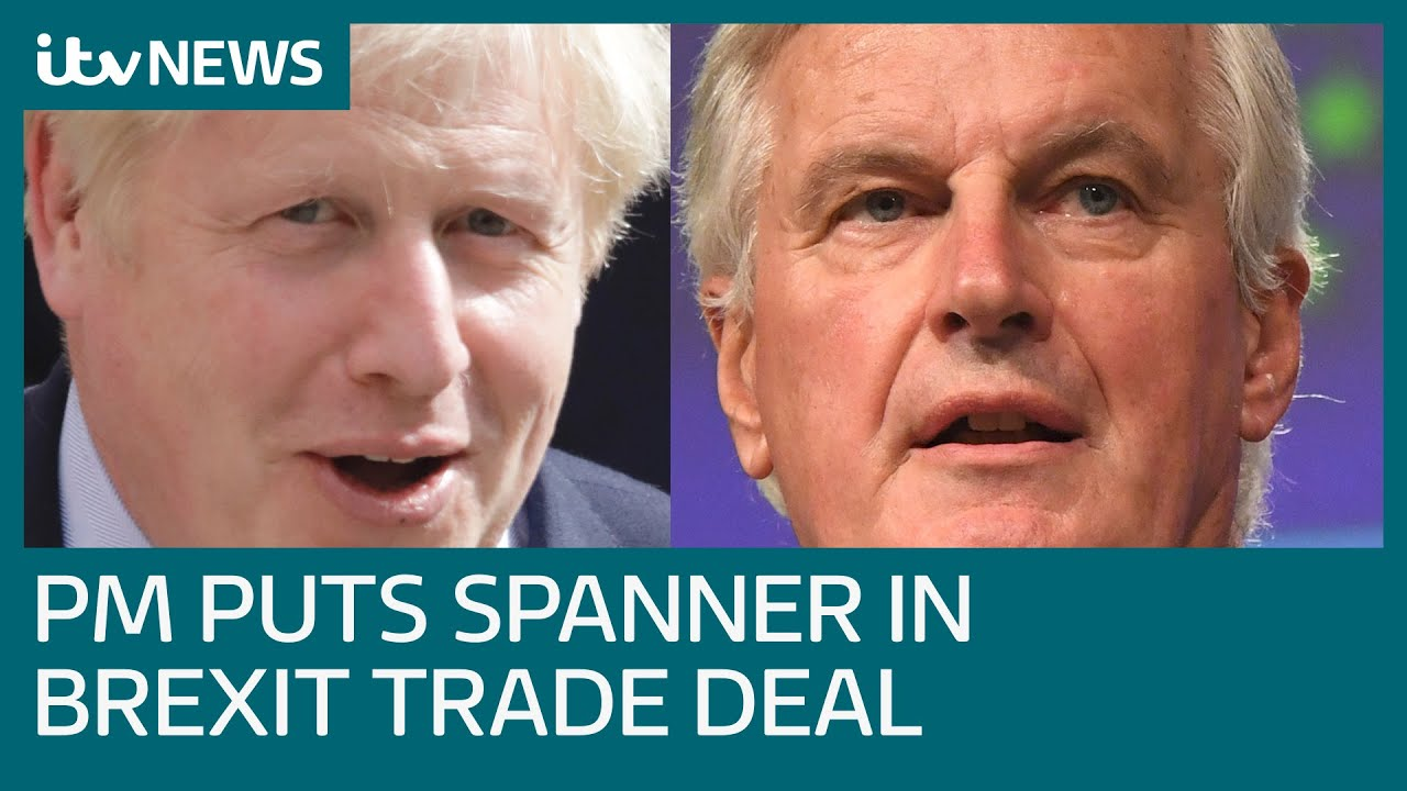 What is the latest disruption to hit the Brexit trade negotiations? | ITV News
