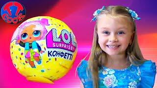 ЛОЛ Куклы КОНФЕТТИ и СЮРПРИЗЫ! Распаковка и Обзор игрушек для девочек Confetti POP LOL SURPRISE