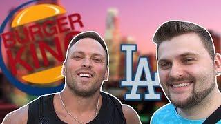 Бургер Кинг в Лос Анджелесе / Еда американских бомжей