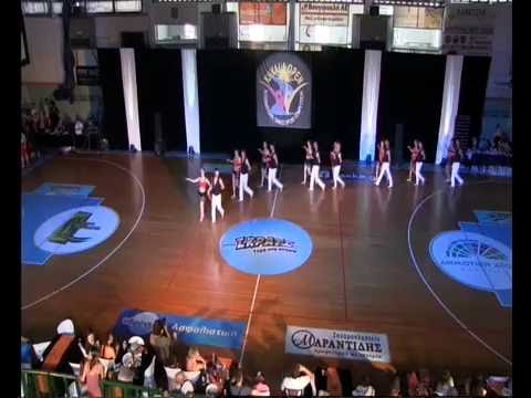 Las Malas Lenguas. Salsa rueda de casino. Kavala Open 2016, 5th place