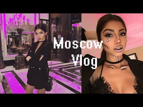 Влог Москва:Хэллоуин Вечеринка,Блогеры и Корейская Знаменитость? ♥